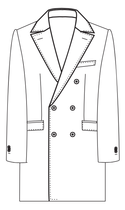 AB COAT 3 (Double Breasted)