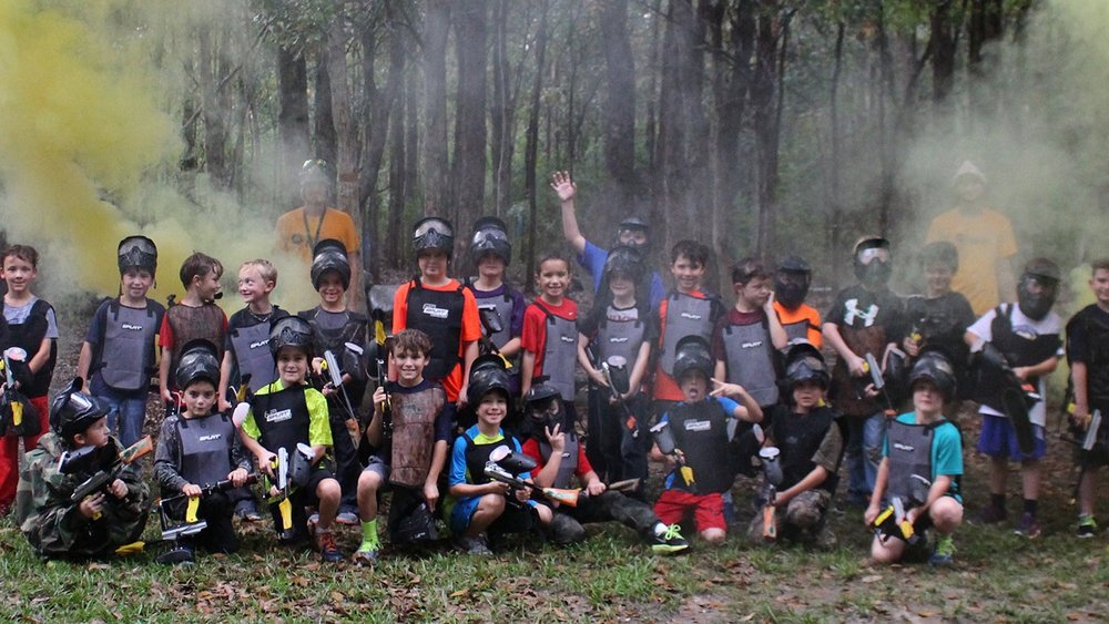 Low-Impact Paintball   Perfect for young players   Learn More