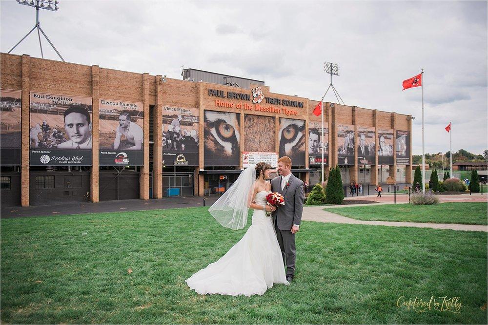 massillon tigers wedding