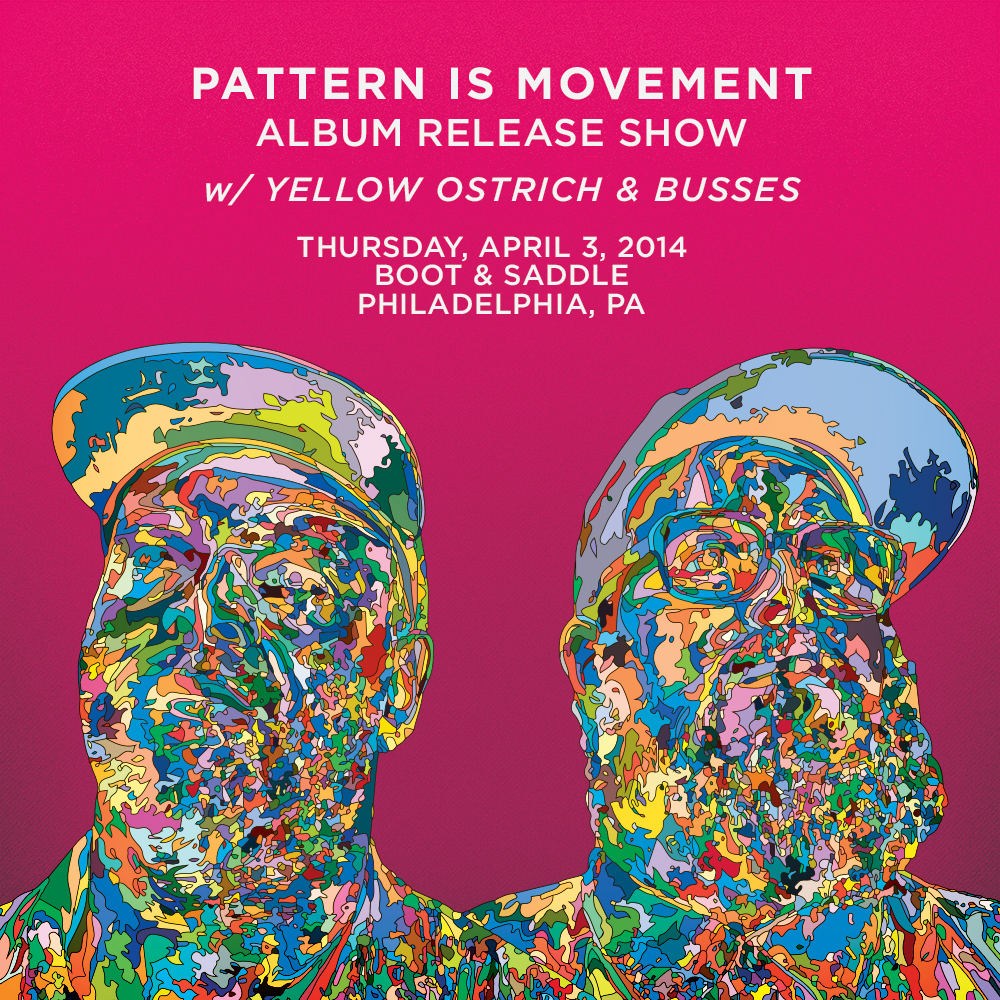 Pattern Is Movement Handbill