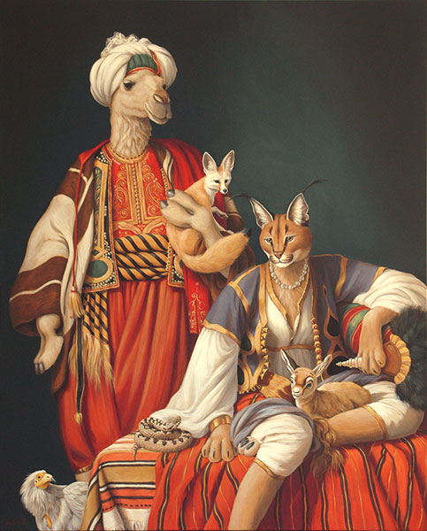 Selim Sahara & Fatima Morgana