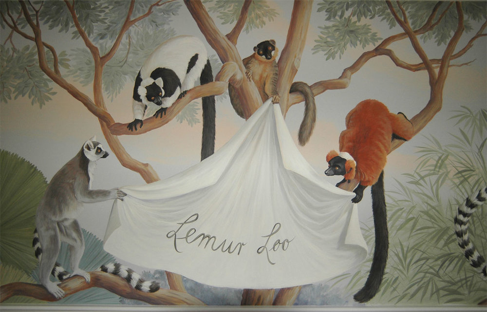 Lemur Loo, Guest bathroom