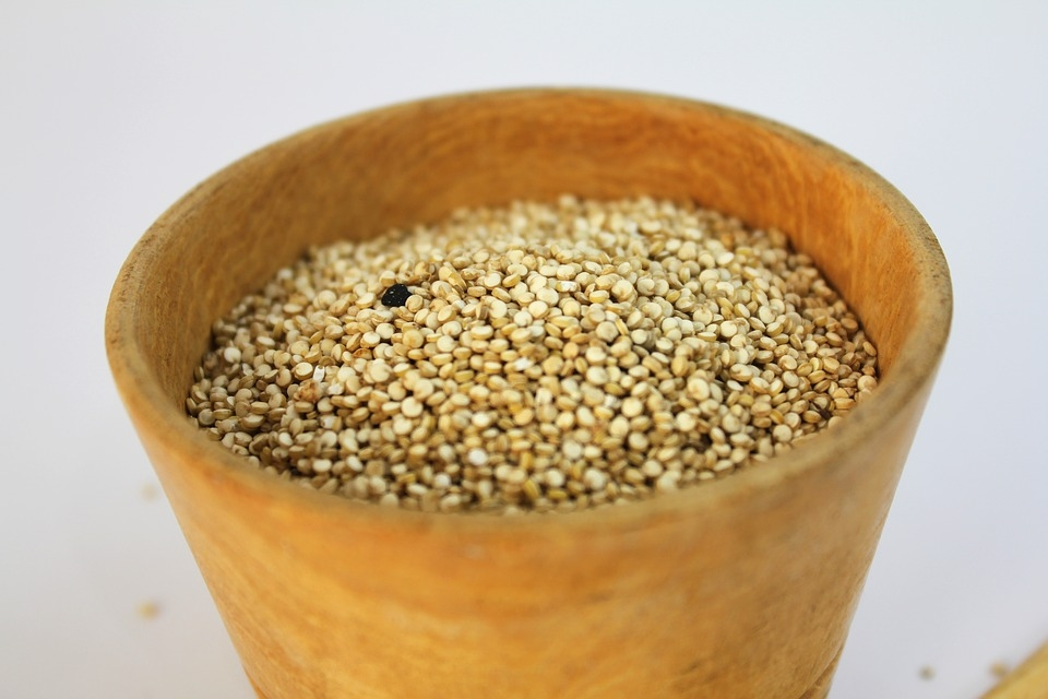 Just pour 2 parts of boiling water over 1 part of this nutty grain,cover and  let it sit  for 5-10 minutes and you'll have a tasty protein hit in no time!
