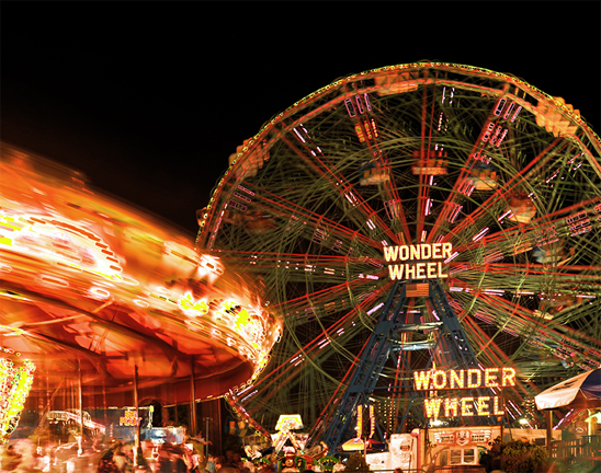 Wonder Wheel, Coney Island, NY