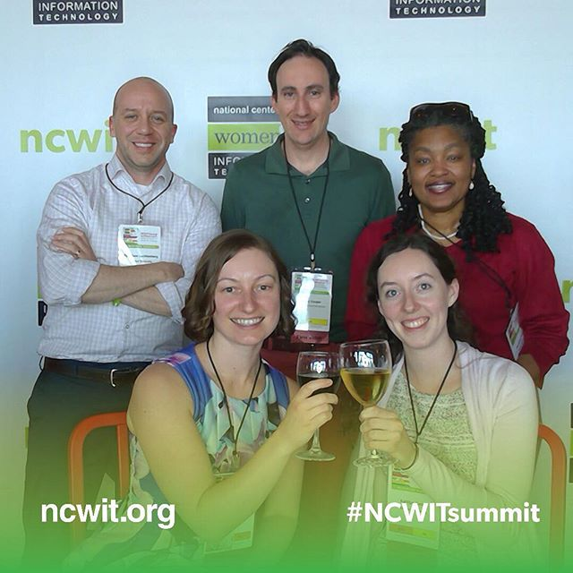 That's a wrap for #ncwit2018! We toast to everyone around the country doing their part to make computing more inclusive. And especially to our partners, allies, mentors, and mentees who inspire us to persist 🥂 #drexelcci