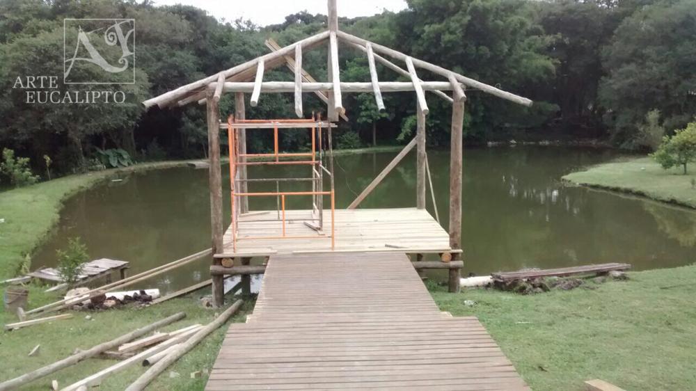 Inicio gazebo 25 m² São José dos Pinhais - Pr