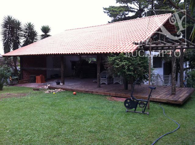 Cobertura sobre paredes existentes Caximba - Pr