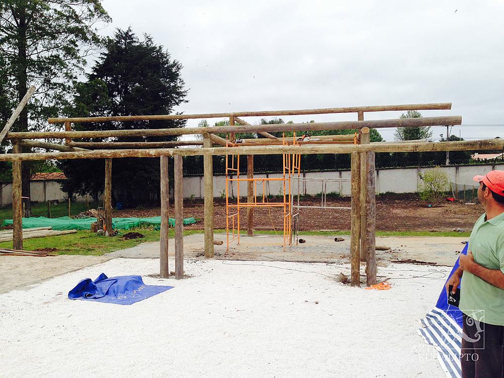 Inicio estrutural casa , Quatro Barras  - Pr