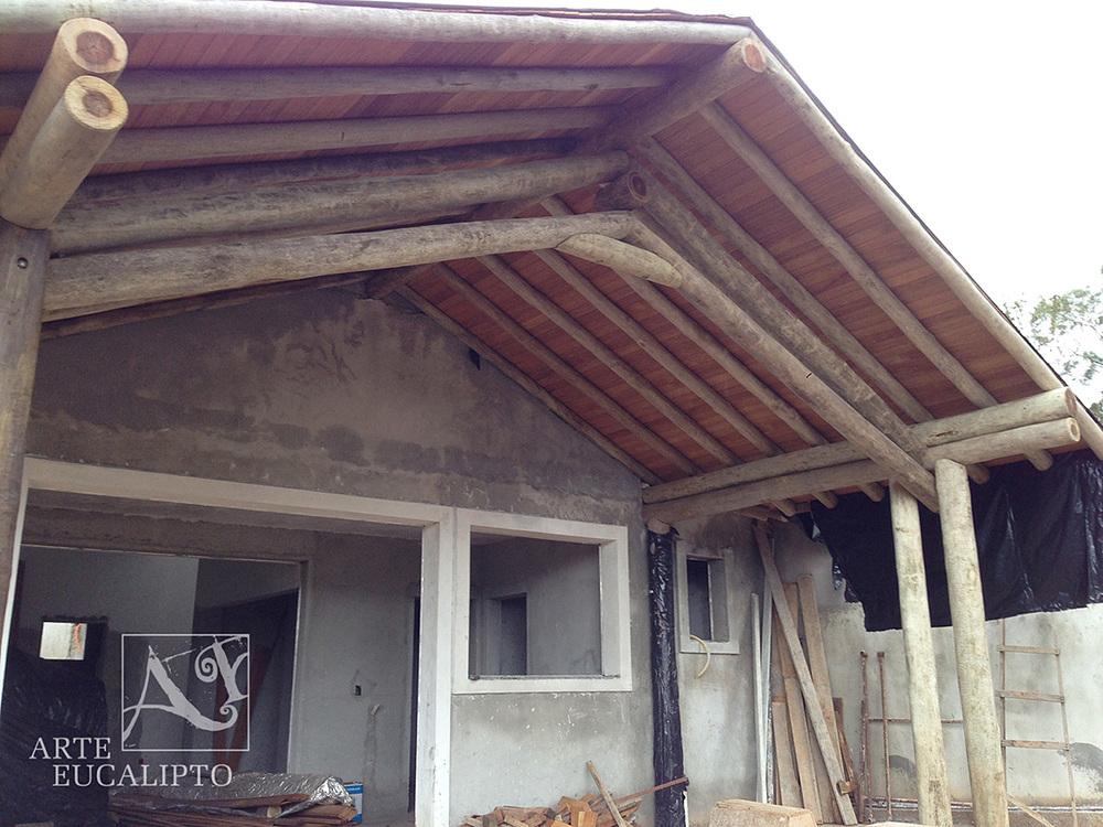 Hall de entrada residência em Campina Grande do Sul