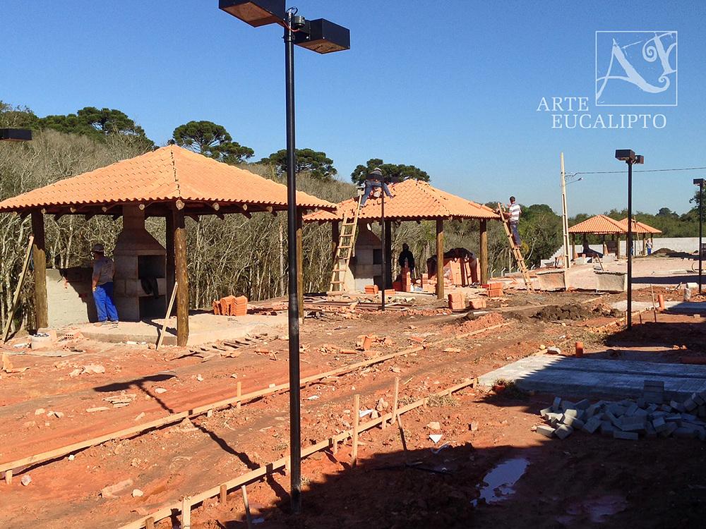 Quiosques condomínio em Fazenda Rio Grande - Pr