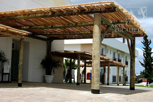 Pérgola Hall de entrada , São José dos Pinhais  - Pr