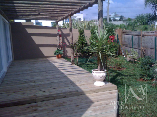 Deck Eucalipto Autoclavado , Alphaville , Pinhais -  Pr