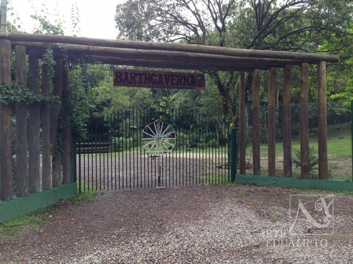 Portal de acesso em angulo , Antonina - Pr
