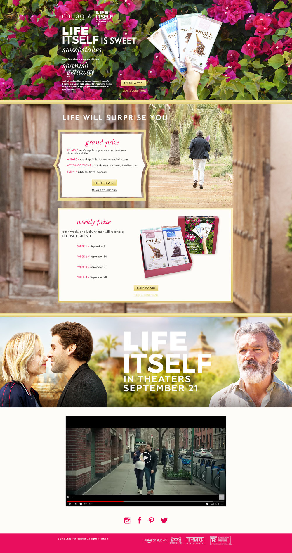 microsite created for our partnership with LIFE ITSEL.