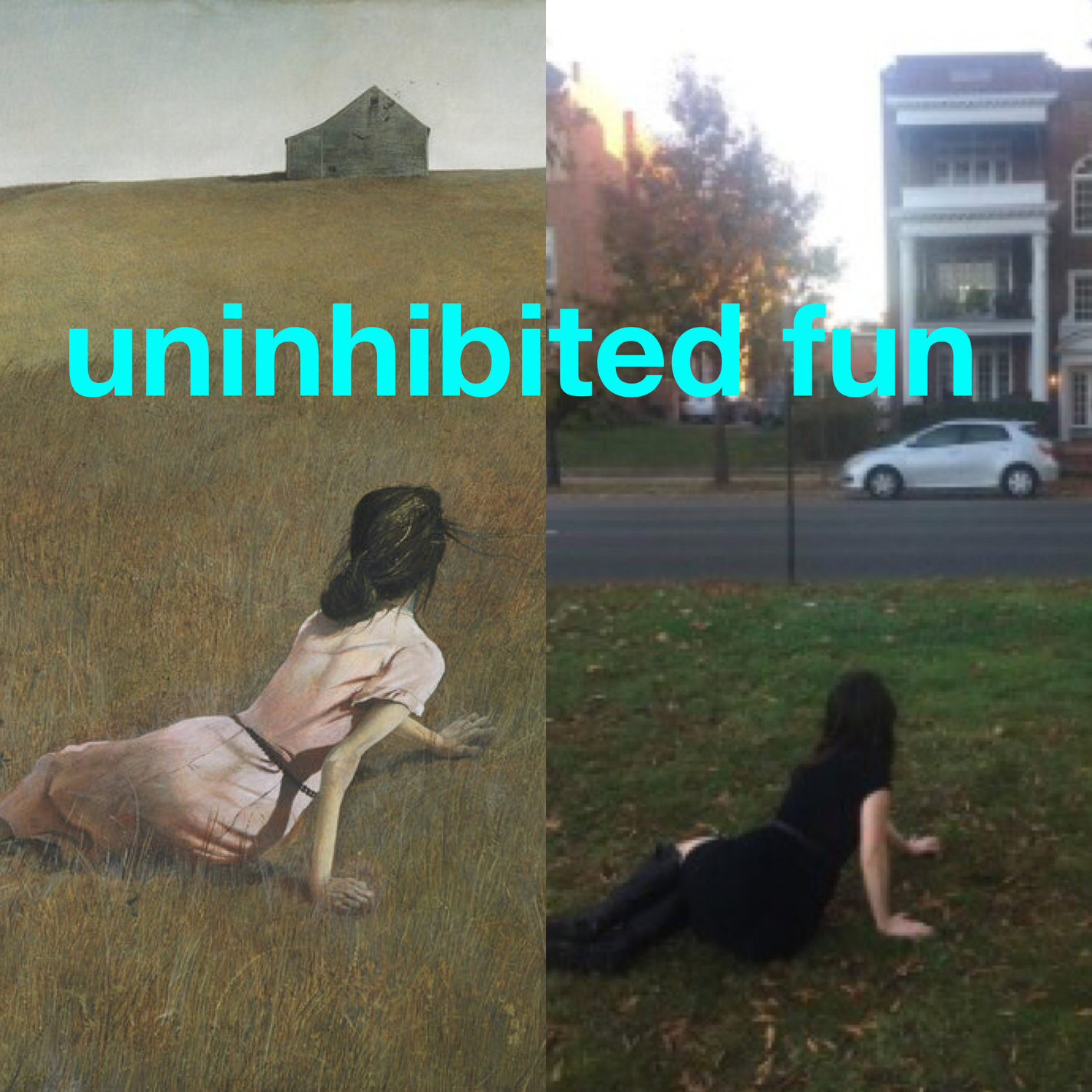 how to be uninhibited