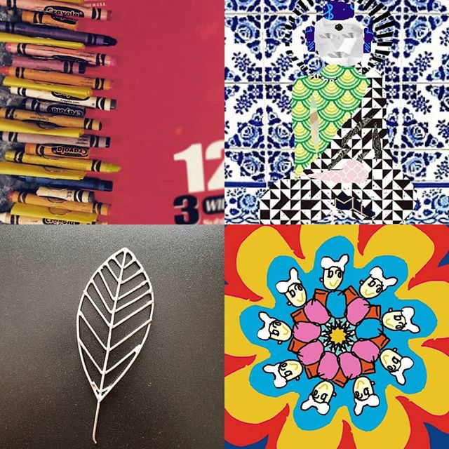 Day 15 #creativesprint playing with patterns! OMG we're halfway through this #30daychallenge  and we are on 🔥 let's keep up this momentum⚡🚀⚡🎨You don't have to consider yourself creative to join in and get the benefits of these 5-min daily creative activities. Let your friends and colleagues know they can try it out any day this month sign up link in profile! 👀⬆️ #dailycreativity #dailyinspiration #makesomething #make365 #artforeveryone #artchallenge #inspireyourself