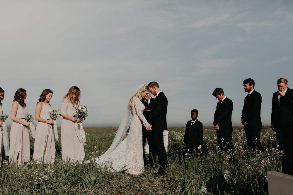 Kelsey + Joel - Sacramento Wildflower Wedding
