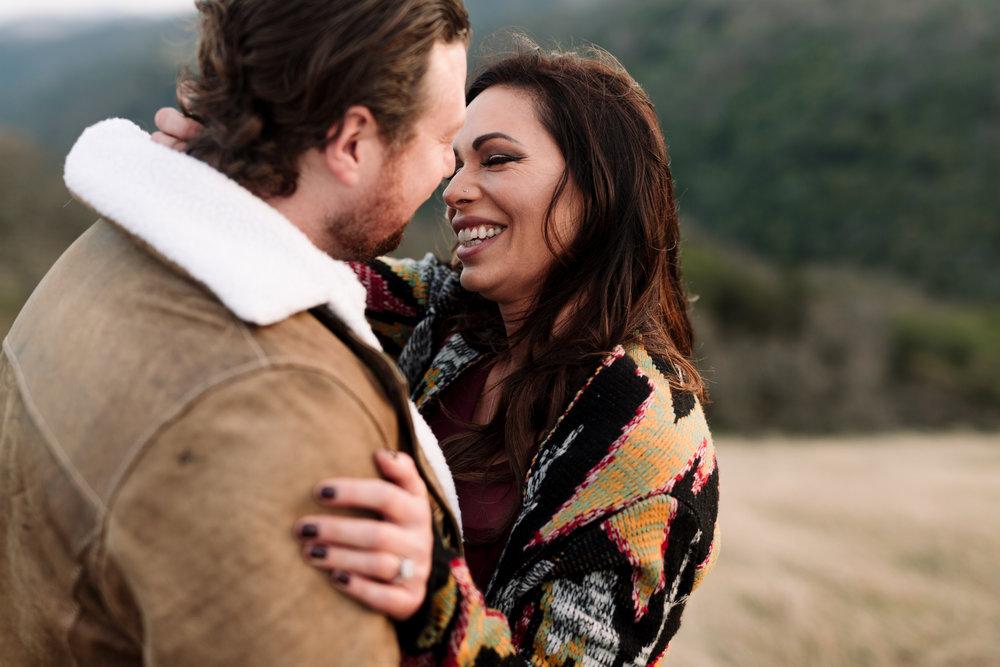 Amber + Sean - Morgan hil engagement