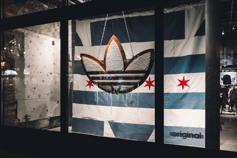 Adidas Originals Store Window