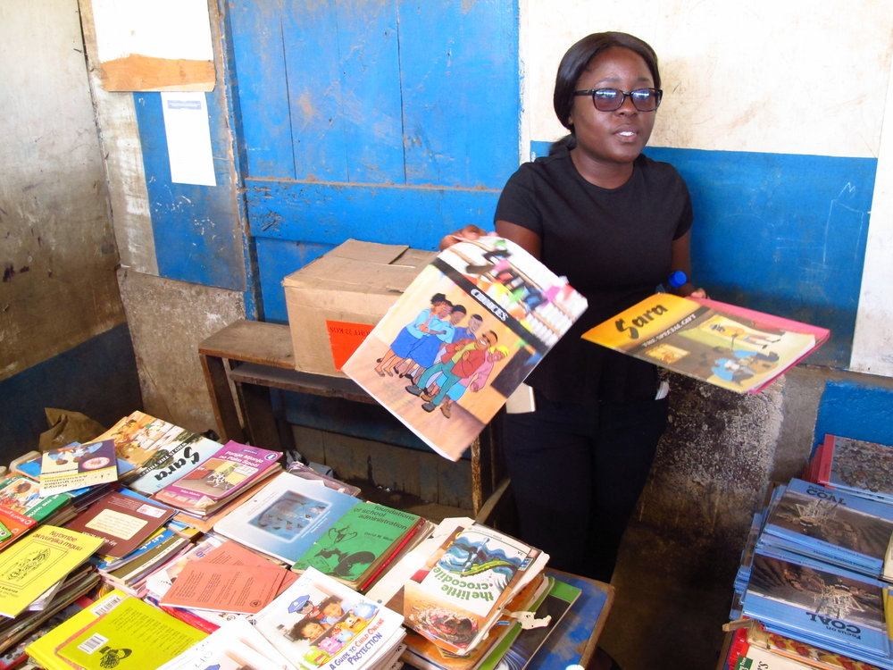 Chishimba works with Lubuto Library Partners in Zambia, whose DREAMS Innovation Challenge project uses public libraries in Zambia as a gateway for scholarships, referrals, mentorship, reproductive health programming, and community engagement .