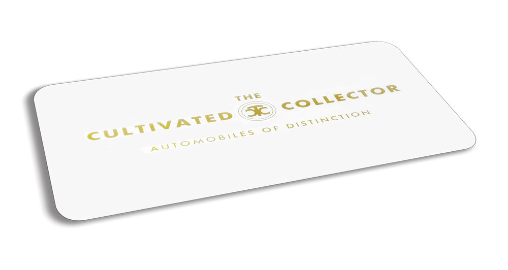 Custom Cultivated Collector Marque Plate