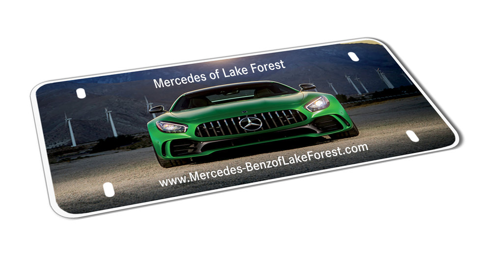 Custom Mercedes-Benz of Lake Forest Polyester Insert Card