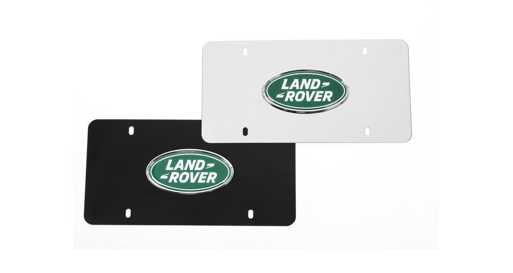 Land Rover Marque Plates