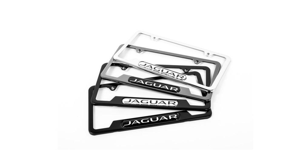 Jaguar Nameplate Frames