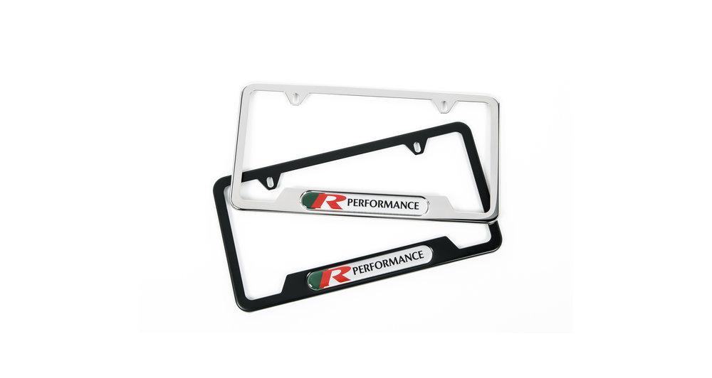 R Performance Nameplate Frames