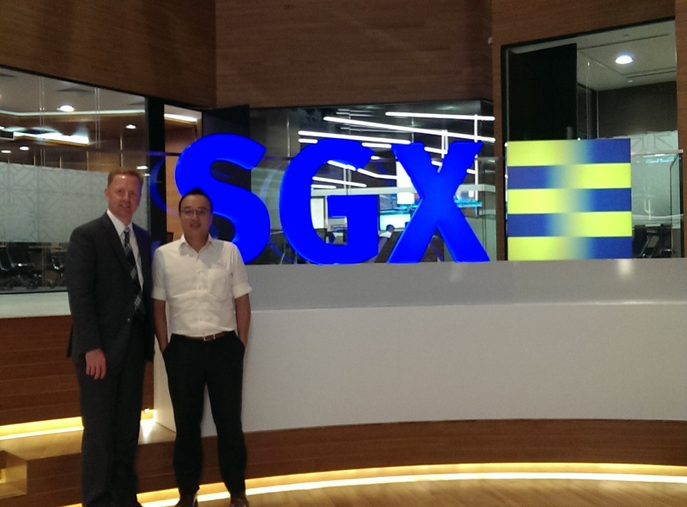 Ryan Hessenthaler with Darrell Lim, Vice President, Head of Investor Relations