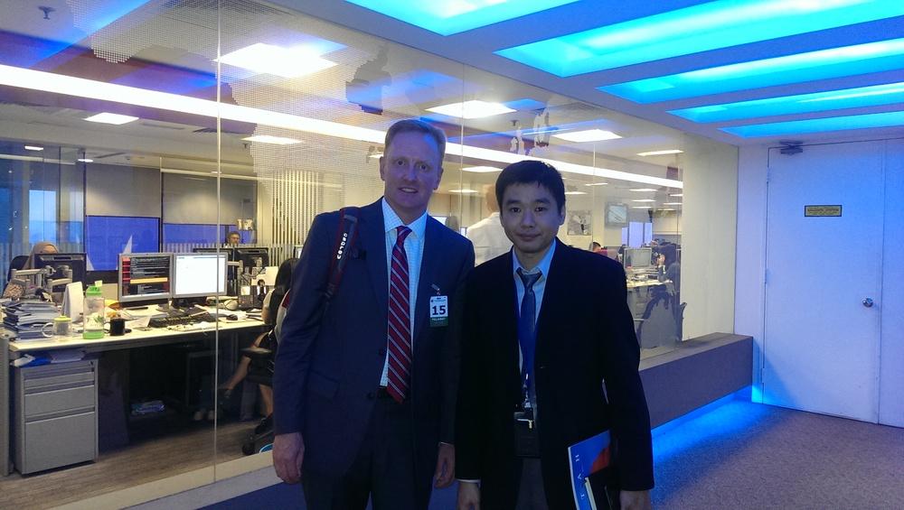 Ryan Hessenthaler with Adrian Wong Yew Chong
