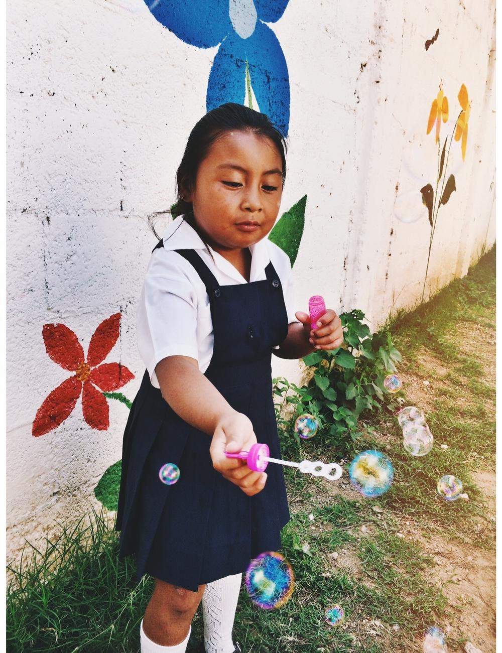 Rosemari - down syndrome student guatemala