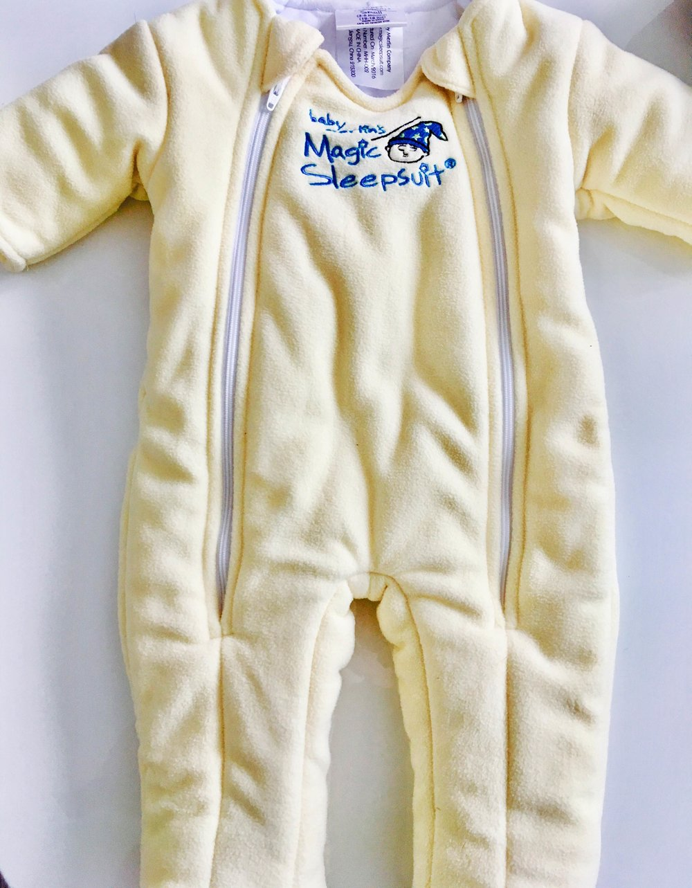Baby Merlin's Magic Sleep Suit for Sale Yellow