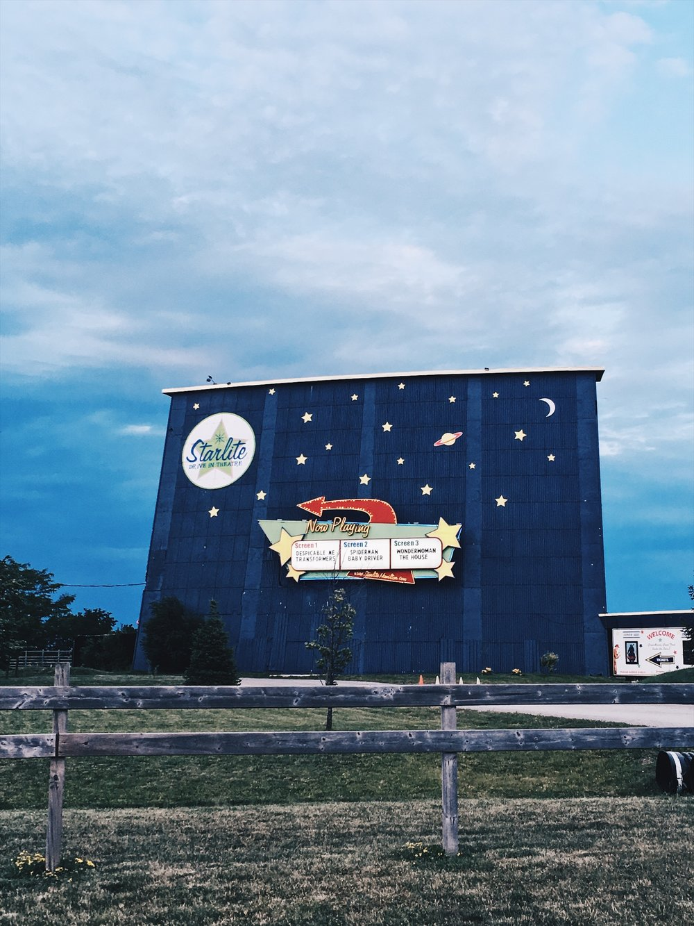 Summer 2017 Photo: Hamilton Starlite Drive-In.