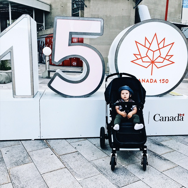 Summer 2017 Photo: Canada 150 in Toronto