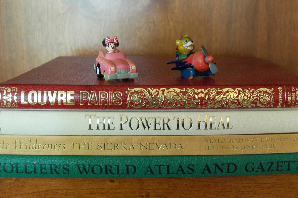 Lake Arrowhead Keepsakes Bookshelf