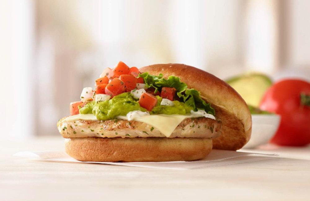Pico Guacamole Sandwich