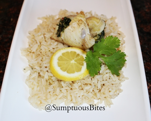 Lemon & Cilantro Rice