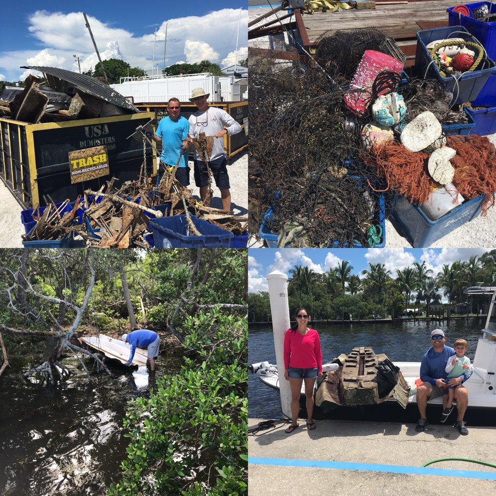 2018 Suncoast Aqua Ventures Cleanup collage.JPG