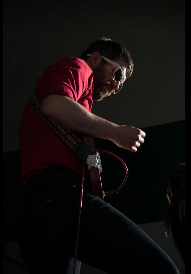 Gavin Dunn at 2015 Edmonton Folk Music Festival