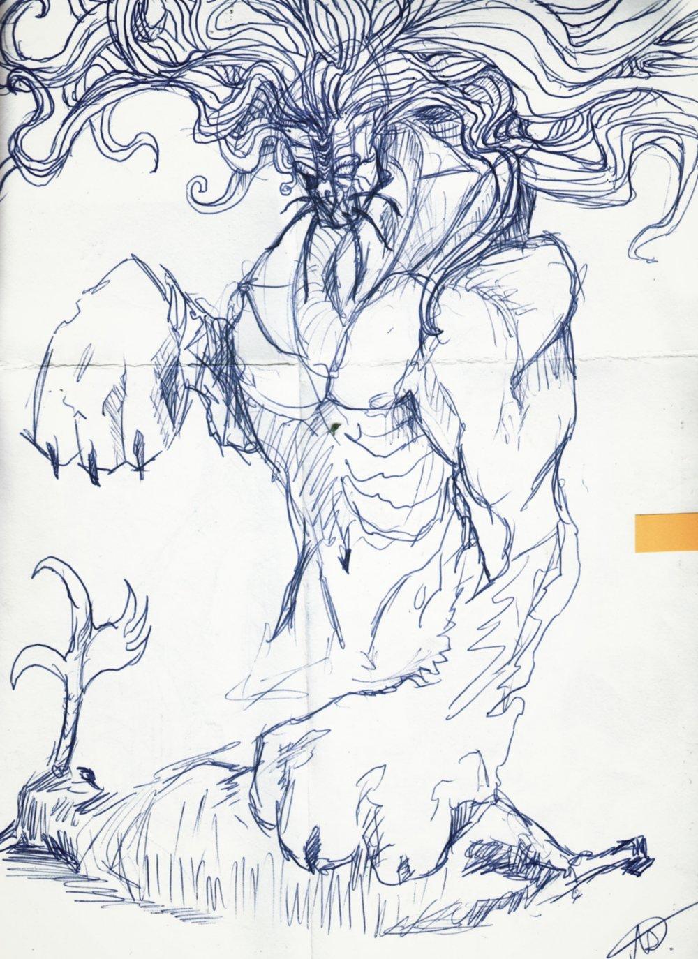 Sketch: Lion's Share