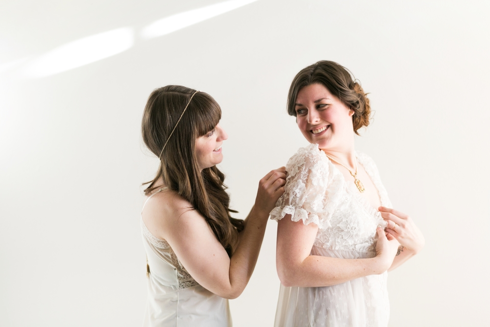 Valentines Bride and Her Bridesmaids  Styled Session  Hurtienne Photography  Portland Oregon Wedding Photographers (17)