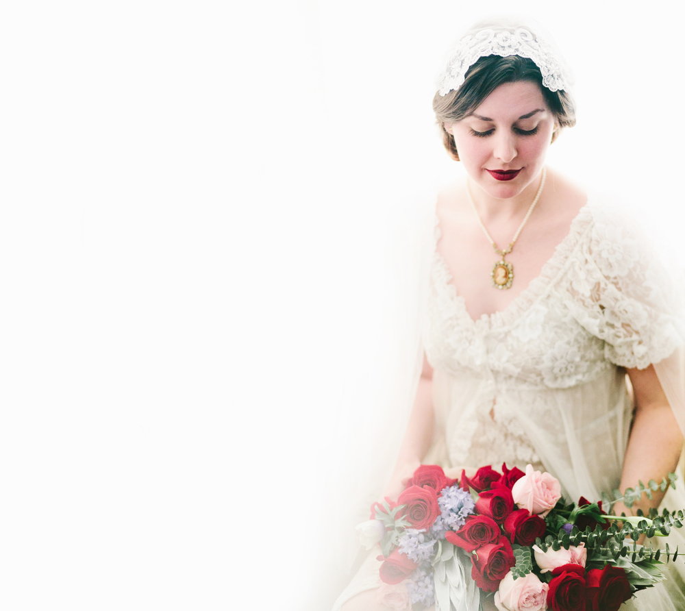 Valentines Bride and Her Bridesmaids  Styled Session  Hurtienne Photography  Portland Oregon Wedding Photographers (32)