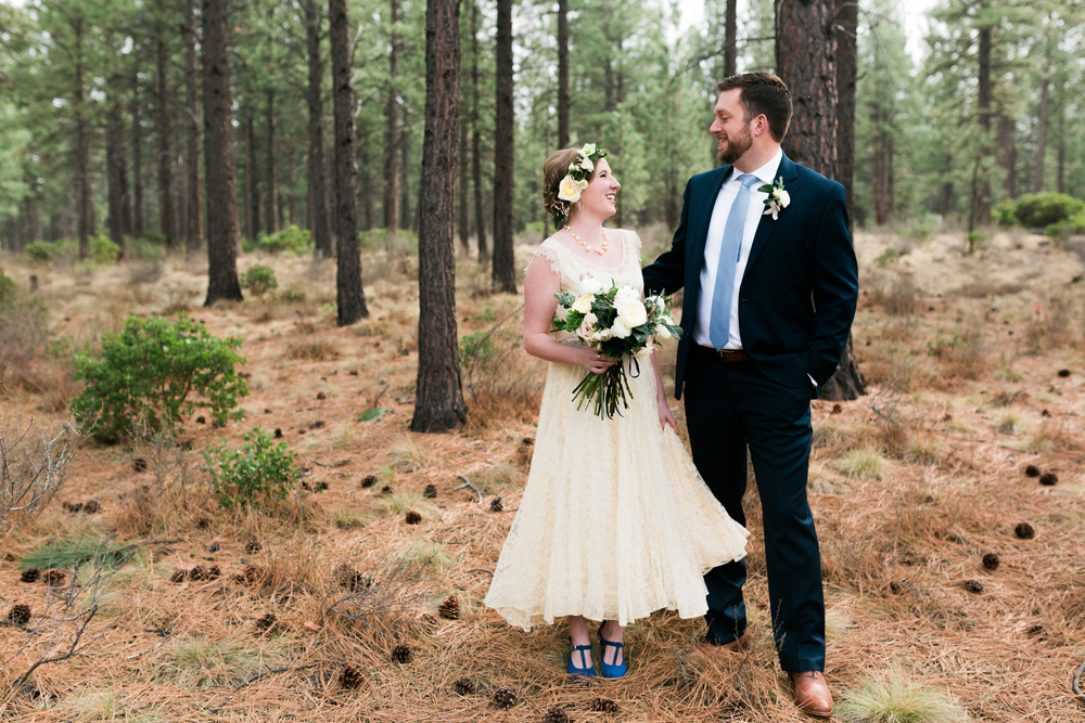 Sam and Cody- Bend Oregon Wedding- High Desert Museum (12)
