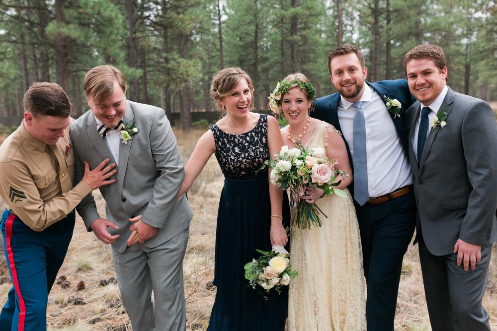 Sam and Cody- Bend Oregon Wedding- High Desert Museum (13)