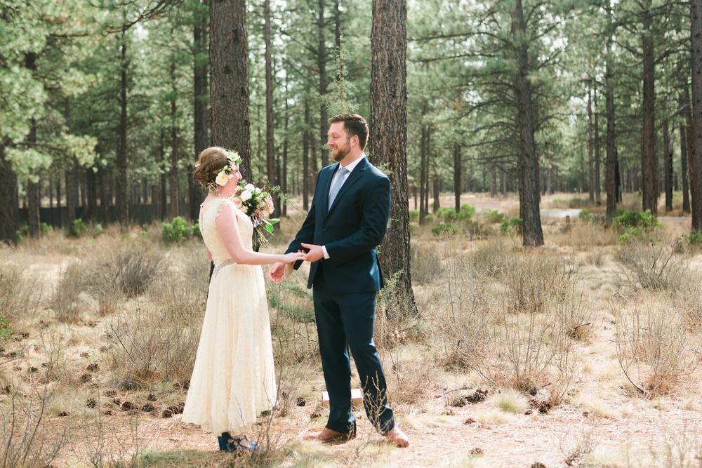 Sam and Cody- Bend Oregon Wedding- High Desert Museum (2)