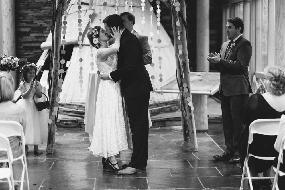 Sam and Cody- Bend Oregon Wedding- High Desert Museum (23)