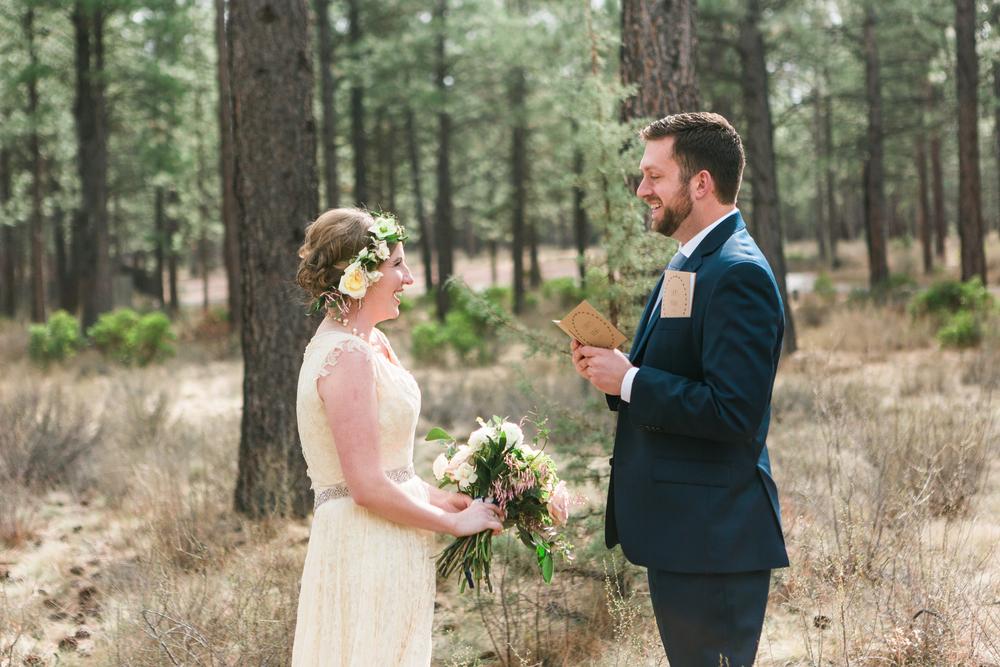 Sam and Cody- Bend Oregon Wedding- High Desert Museum (4)