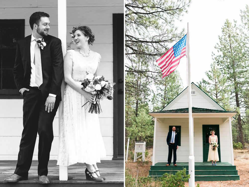Sam and Cody- Bend Oregon Wedding- High Desert Museum (42)