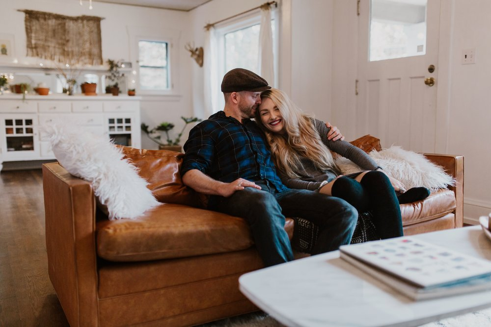 In Home engagement session Portland Oregon- Grace and Jaden Photography (9).jpg